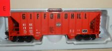 Walthers HO scale Greenville 100 Ton Twin Hopper - GiffordHill #1544 - with load