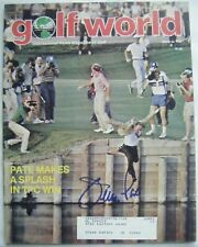 JERRY PATE signed 1982 GOLF WORLD magazine AUTO Autographed ALABAMA CRIMSON TIDE