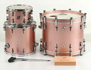 smells like cigarettes- Sonor SQ2 Beech 3-piece Shell Pack Bright Copper Sparkle