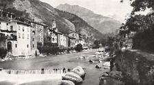 ALPES- MARITIMES. Fontan. Vallée de la Roya 1900 old antique print picture