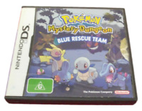 Pokemon Mystery Dungeon Blue Rescue Team DS 2DS 3DS Game *No Manual*