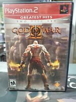 God of War 2 II Playstation 2 PS2 Complete -- S2G --