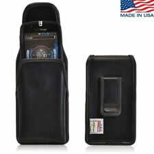 Turtleback Casio Commando C811 Vertical Holster Phone Case, Leather Belt Clip