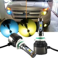 9005 HB3 High Power Yellow Blue Dual Color LED Hi/Lo Beam Headlight Bulbs Kit