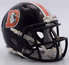 DENVER BRONCOS NFL Riddell SPEED Mini Football Helmet 2016 COLOR RUSH