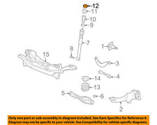FORD OEM 00-11 Focus Rear Suspension-Upper Insulator 3S4Z18A161AA