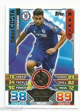 2015 / 2016 EPL Match Attax Base Card (71) Diego COSTA Chelsea