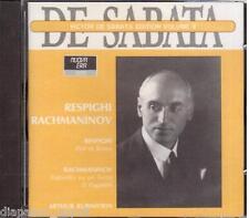 Respighi: Pini Di Roma; Rachmaninov: Rapsodia Su Pagani / De Sabata, Rubinste CD