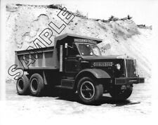 1949 STERLING Dump, PAZZANO TRUCKING CO, Waltham, Mass. 8x10 B&W Glossy Photo #1