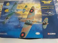 Corgi 49505 Battle of Britain Supermarine Spitfire MK I and Messerschmitt Bf109