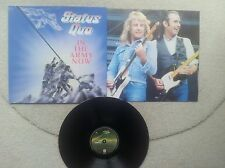 STATUS QUO IN THE ARMY NOW 1986 HOLLAND 12 INCH VINYL LP ORIGINAL INNERSLEEVE
