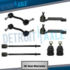 1993-1997 Ford Thunderbird Cougar Inner Outer Tie Rod Ball Joint Sway Bar Kit