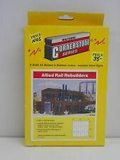 "WALTHERS/CORNERSTONE N SCALE U/A ""ALLIED RAIL REBUILDERS"" PLASTIC MODEL KIT"