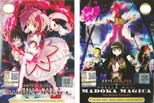 ANIME DVD Puella Magi Madoka Magica Vol.1-12 End + The Movie Trilogy +FREE SHIP