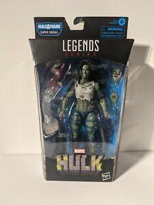 Marvel Legends Series She - Hulk Figure Includes BAF Super Skrull Piece