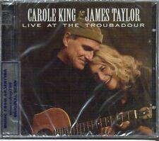 CD + DVD SET CAROLE KING & JAMES TAYLOR LIVE AT THE TROUBADOUR SEALED NEW LIVE