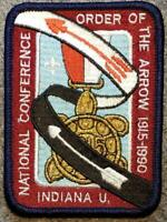 1990 NOAC - 75 Years of Service - Pocket Patch - BSA/OA