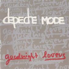 CD SINGLE PROMO DEPECHE MODE GOODNIGHT LOVERS CARDBOARD SLEEVE TRES RARE 2001