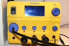 Hakko FM206-DSA Rework Station 3-Port 120VAC with FM-2024, FM-2027.