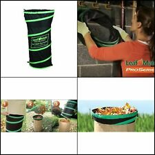 Paper Bag Funnel Heavy Duty Leaf and Lawn Yard Waste Chute Convenient Portable