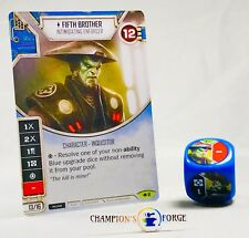 Star Wars Destiny Way of the Force Fifth Brother #2 Rare w/ Premium Die