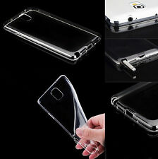 Case Soft TPU Rubber Gel Cover For Samsung Galaxy S4 i9500 S5 Note 4