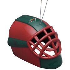 Minnesota Wild Goalie Mask Hockey Helmet Plastic Christmas Tree Holiday Ornament