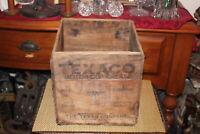 Antique Texaco Motor Cup Grease Wood Box Crate Texas Company Port Arthur Texas