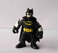 #P1~  Imaginext DC Super Friends Batman BLACK Action Figure Fisher-Price Hero