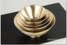 [by Artisan Kyung-Su Kim]Korean Bangjja Yugi Dessert Bowls