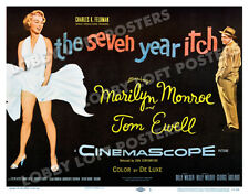 THE SEVEN YEAR ITCH LOBBY TITLE CARD POSTER 1955 MARILYN MONROE TOM EWELL