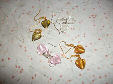 Heart Alloy Costume Earrings without Stone
