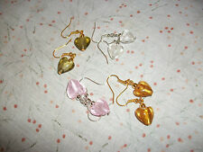 Heart Costume Earrings without Stone