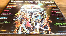 "THANK GOD IT'S FRIDAY OST US 2LP + LTD DJ DISCO 12"" DONNA SUMMER THE COMMODORES"