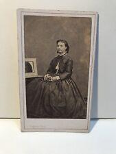 Femme Photo L. Fragney Besançon Cdv Carte de visite Vintage Albumine