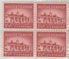Block North American Stamps