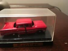 AHI 1950's Red Pontiac 1/87 Made Japan In Excellent Condition