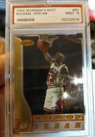 1996 BOWMANS BEST MICHAEL JORDAN #80 PSA 9 🔥 CHICAGO BULLS 🔥 MVP 💎
