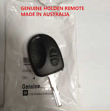 Genuine 2 BUTTONS REMOTE KEY SUITS HOLDEN COMMODORE VS WH WK WL VT VX VY VZ