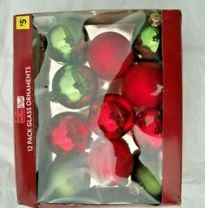 vintage 11 american christmas ornaments made in china