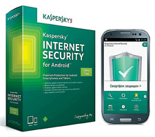 KASPERSKY INTERNET SECURITY ★ 1 ANDROID ★ 1 YEAR BRAND NEW KEY ★ INSTANT DELIVER