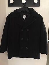 New Old Navy Wool Jacket With Hood/ Boys 8 (Med)