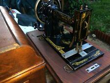 White Peerless Antique Sewing machine