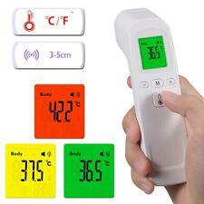 Termometro digital infrarrojo sin contacto - Alarma de fiebre 3 colores rápido