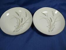 "Set(s) of 2 Fruit Desert Bowls 5.5""SENTINEL 6150 MIKASA JAPAN Wheat White (Lo50)"