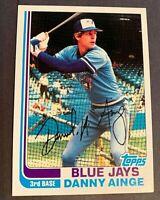 1982 Topps #125  Danny Ainge RC Set Break  - Blue Jays
