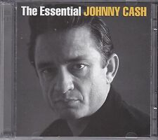 THE ESSENTIAL JOHNNY CASH on 2 CD's - NEW