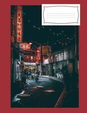 Music Manuscript: Exotic Dark Asian City Street