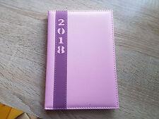 Buch-Kalender Kalenderbuch Buchkalender Chef Terminplaner 2018 A5/C5 pink