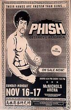 "PHISH ""DESTROYS AMERICA 1997 TOUR"" DENVER CONCERT POSTER -Hands Faster Than Guns"